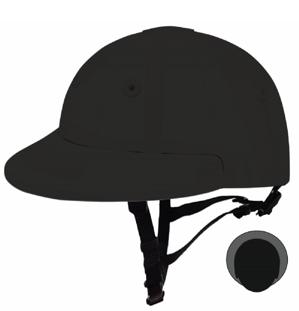 English Peak Style Helmet Polo. (x 1) (78846682-f76s3rxg)